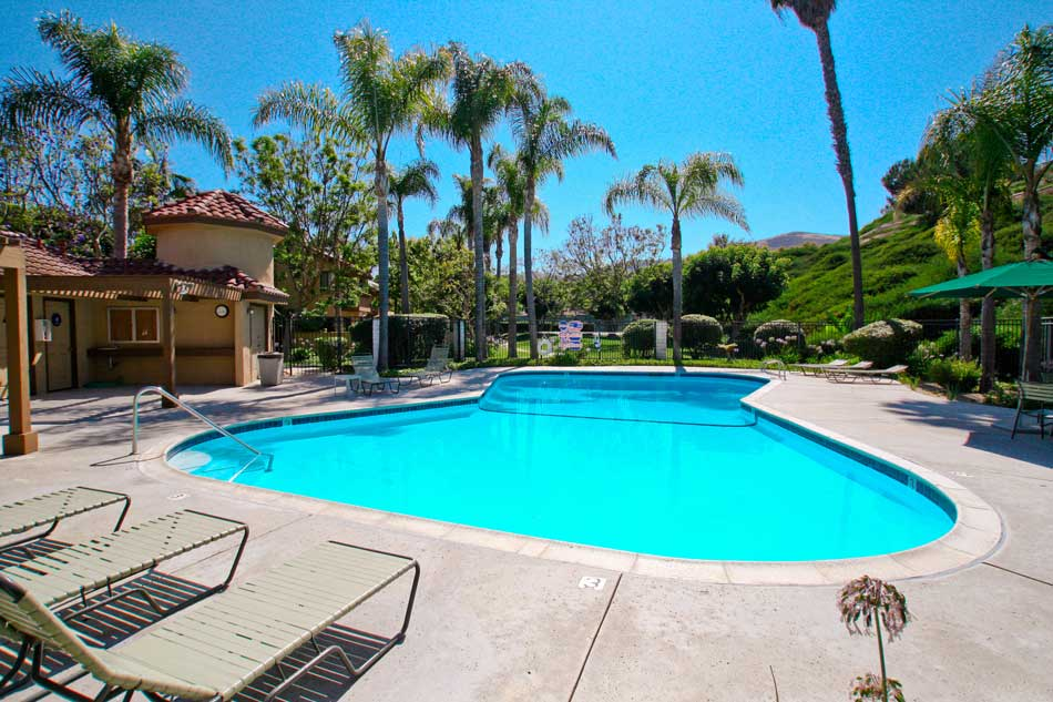 Casablanca Community Pool in San Clemente, California