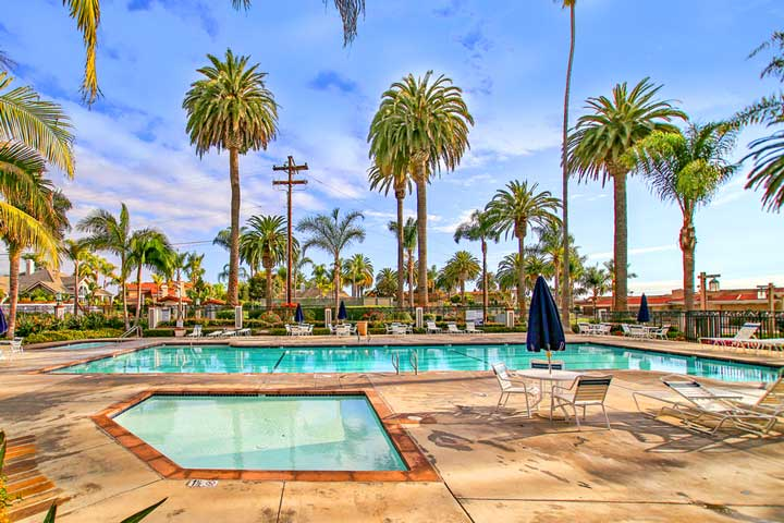 Cyprus Cove Community Pool in San Clemente, California