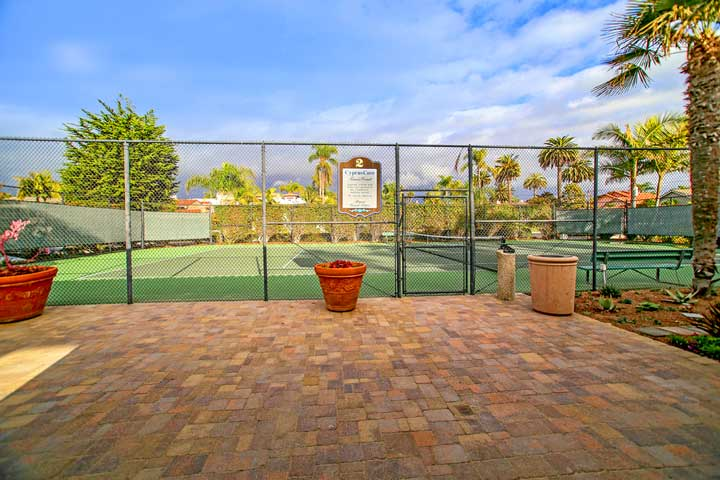 Cyprus Cove Tennis Courts in San Clemente, California