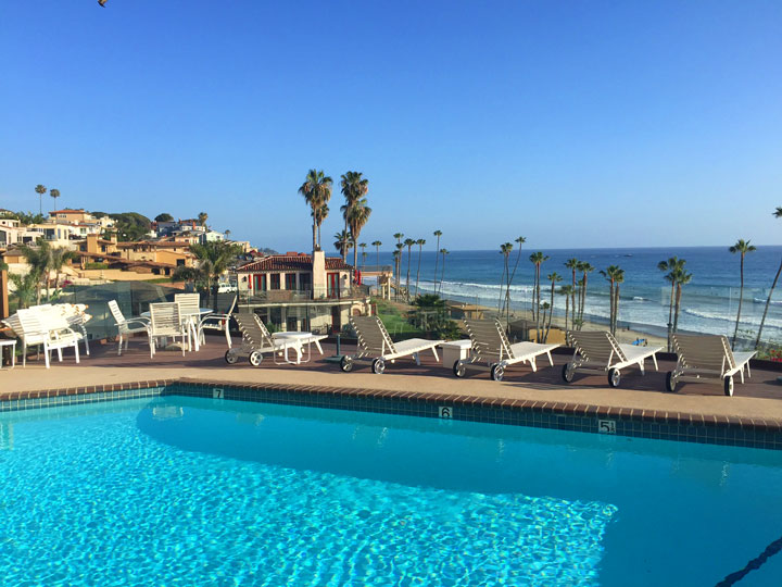 Driftwood Bluffs Pool Views in San Clemente, California