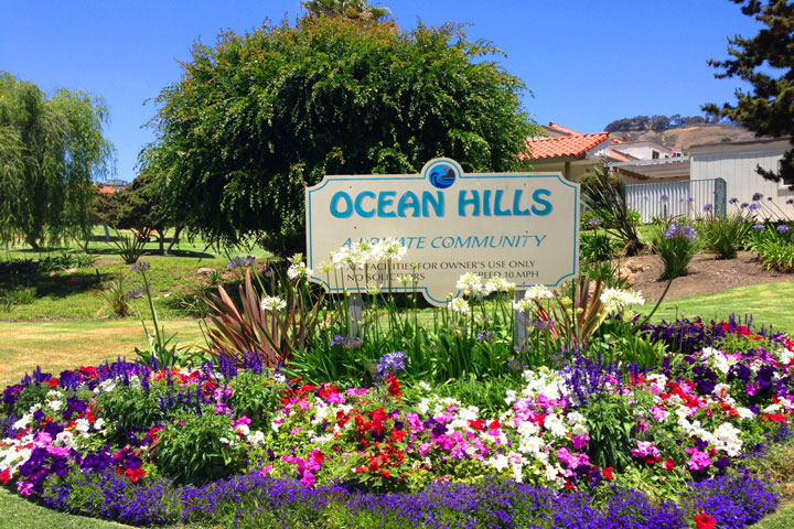 Ocean Hills Community in San Clemente, California