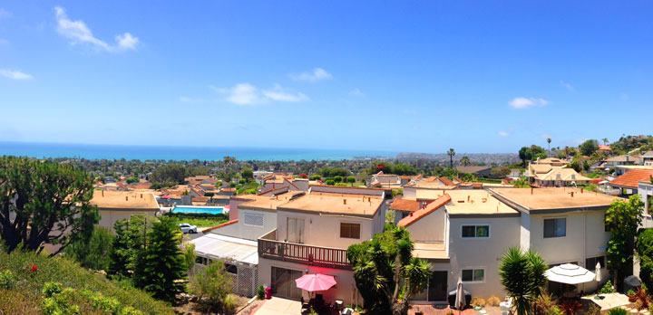 Ocean Hills Ocean Views in San Clemente, California