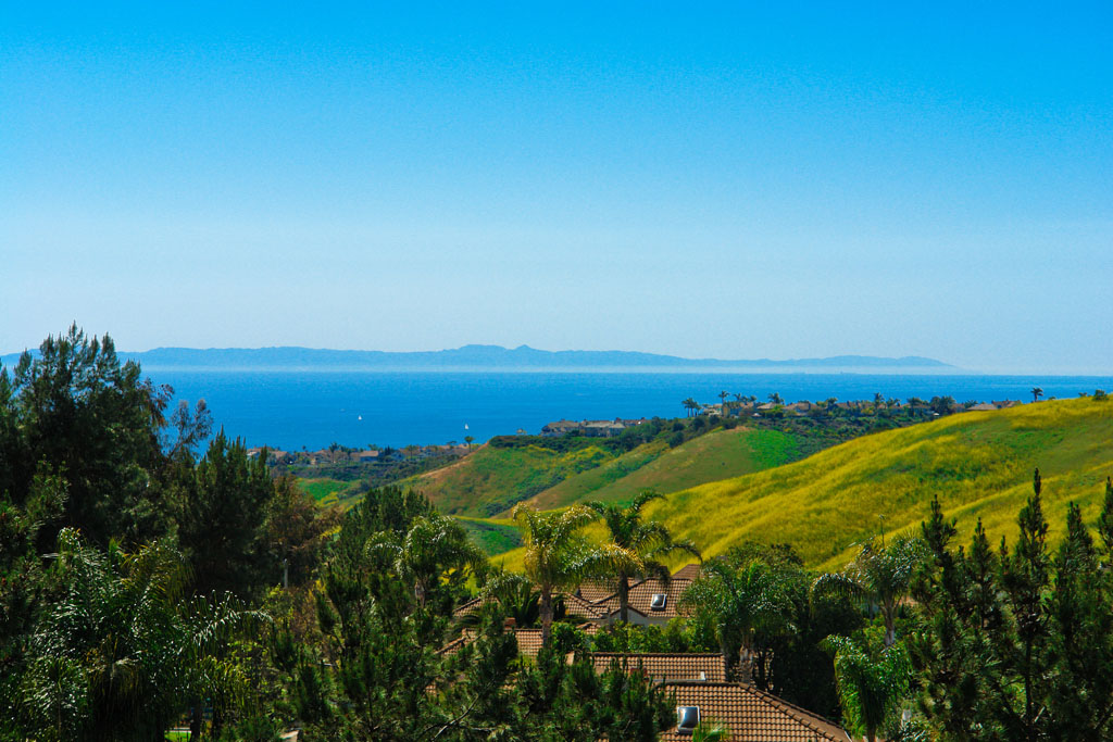 Ocean Views From Vista Pacifica Condos in San Clemente, California
