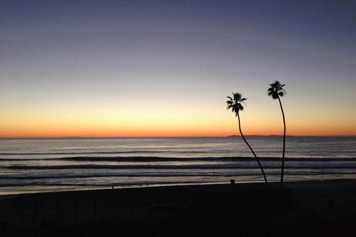 San Clemente, California Sunset - December 19th, 2012