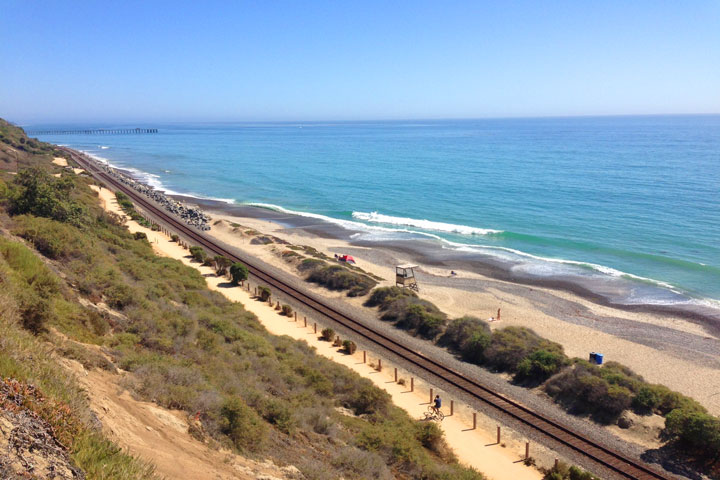 San Clemente Walking Trails Through North Beach