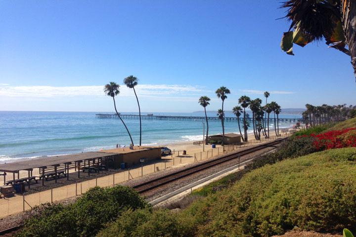 San Clemente Walking Trails Near T-Street Beach
