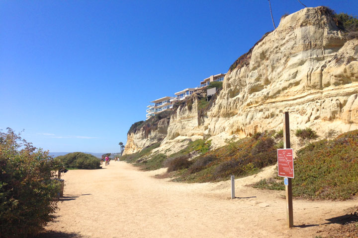 San Clemente Walking Trails Near Calafia State Beach