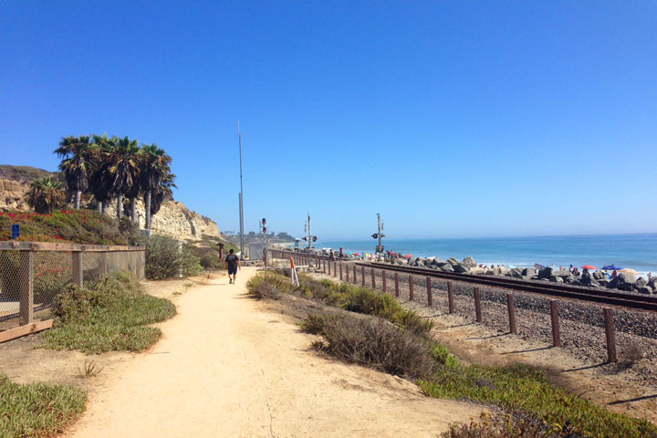 San Clemente Walking Trails End At Calafia State Beach