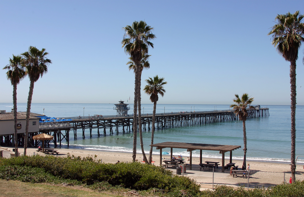 San Clemente Pier View in San Clemente, California
