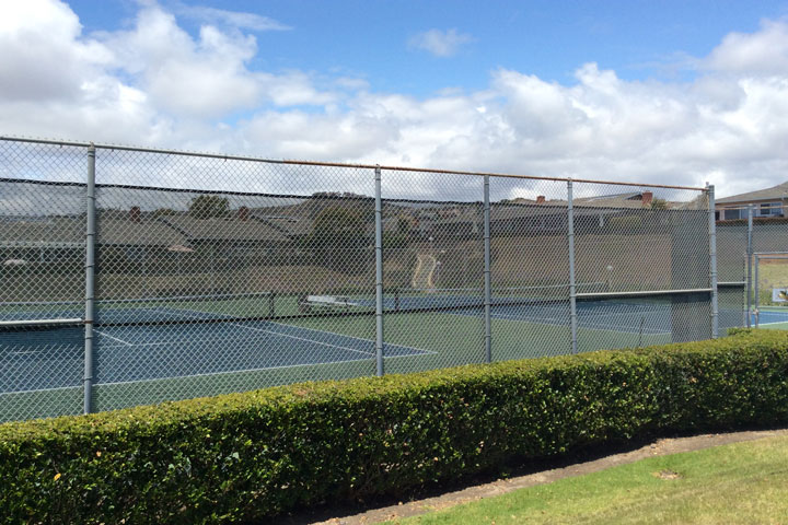 Seascape Community Tennis Courts in San Clemente, California