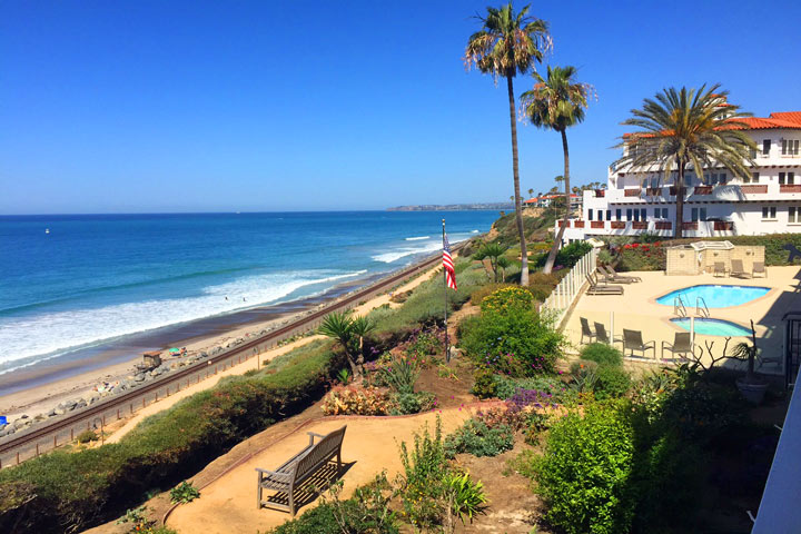 Sunset Shores Oceanfront Condos in San Clemente, California
